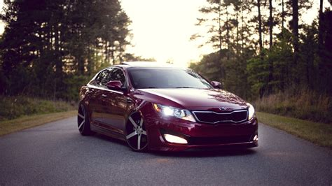 Kia Optima Cherry Color Wallpapers And Images