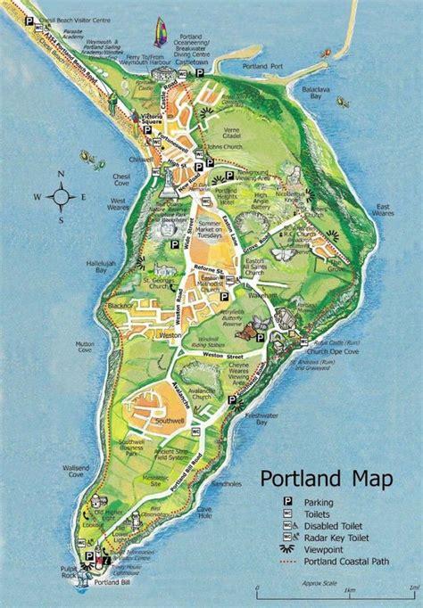 map  portland photography