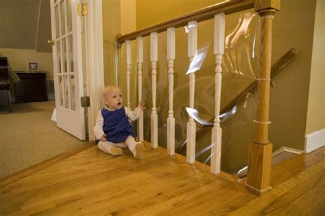 ideas diy  baby proofing  baby proof banister ideas