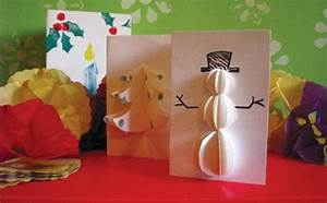Christmas Cards To Make With Children Ideas