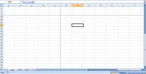 Comment fixer plusieurs lignes et/ou colonnes dans Excel