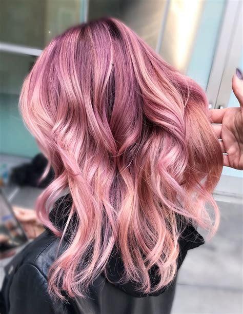 ♥️ Pinterest Deborahpraha ♥️ Bright Pink Hair Color