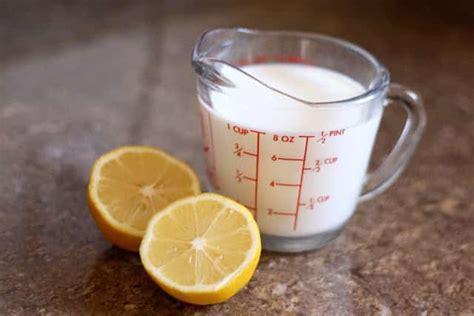 buttermilk substitute kitchen tip how to make a buttermilk substitute barefeetinthekitchen
