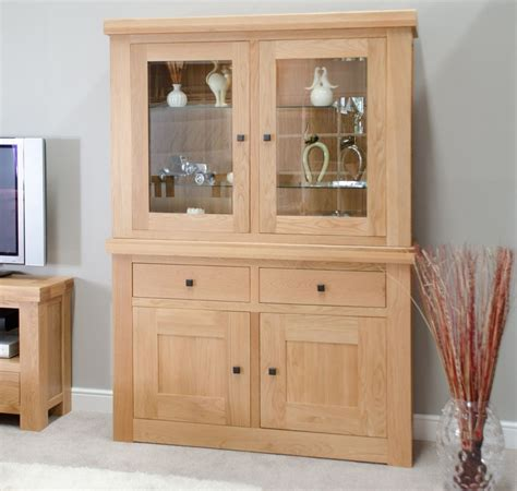 ebay uk china cabinets belgrave solid premium oak furniture glazed dresser china