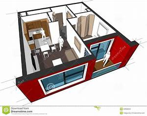 Apartment Diagram Stock Photos