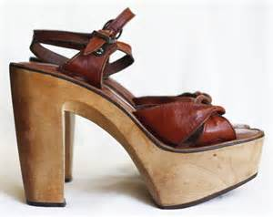 70s Disco Platform Shoes