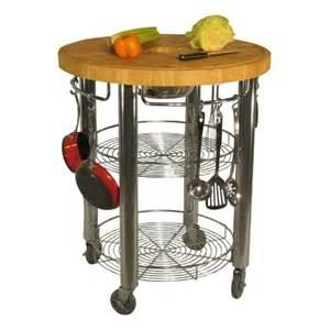 Kitchen Islands Wheels 30 In Kitchen Cart 2 In Butcher Block Cart