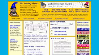 esl writing wizard  worksheets nick ramsays long