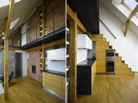 Clothes drying room design, space saving stairs for loft