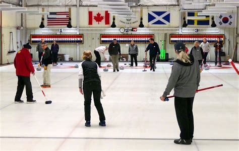 Throwing Stones—us Olympic Win Stirs Interest In Curling
