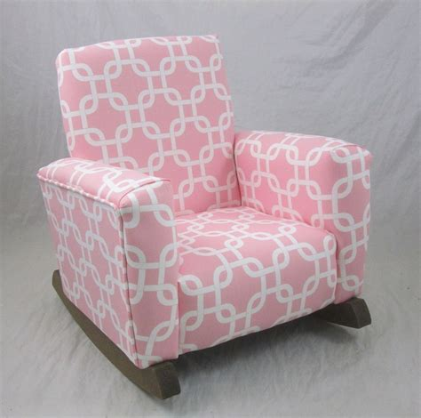 new childrens upholstered rocking chair gotcha pink toddle
