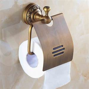 Free, Shipping, European, Style, Toilet, Paper, Holder, Toilet, Paper, Roll, Holder, Antique, Brass, Tissue
