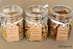 Gesunde Süßigkeiten Selber Machen : crunchy granola knuspriges granola selber machen in 3 rezeptvarianten desserts s es ~ Frokenaadalensverden.com Haus und Dekorationen