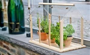 mini gewachshaus gewachshaus fruhbeet selbstde With französischer balkon mit garten wc selber bauen