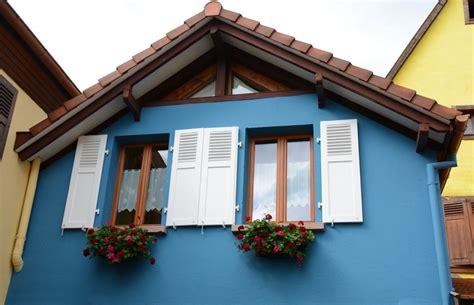 Haus Mieten Elsass Frankreich by Unterkunft Bergheim Elsa 223 Ferienhaus Das Blaue Haus Im