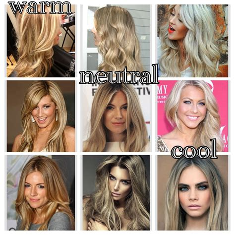 Hair Shades For Cool Skin Tone by The Difference Between Warm Neutral And Cool Tones