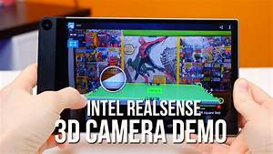 Intel RealSense 3D camera demo & accuracy test - YouTube