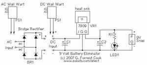 Nine Volt Battery Eliminator Circuit