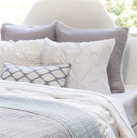 gray quilt bedding light grey reversible quilt and shams crane canopy