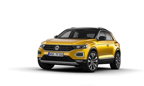 Volkswagen Car : Vw T-roc Revealed News Photos Specs Prices