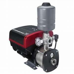 Grundfos Cmbe 1 2hp  115v  15gpm  50psi  Booster Pump