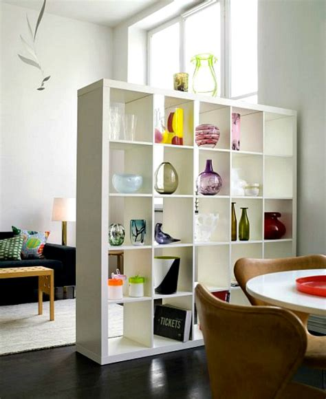 Bookcase Divider Wall by Different Ways To Use Style Ikea S Versatile Expedit Shelf