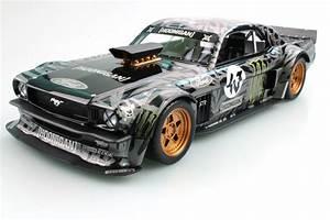 Top Marques Collectibles Ford Mustang 1965 Hoonigan, Ken Block, 1:18 black | TOP48A