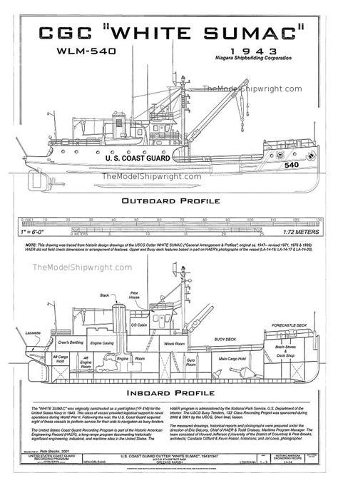 coast guard cutter white sumac the shipwright
