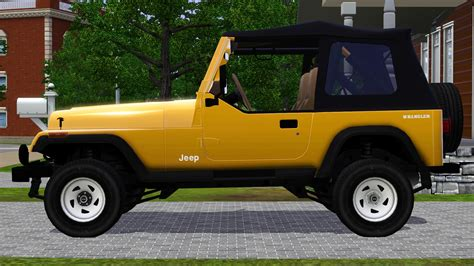 Fresh-Prince Creations - Sims 3 - 1988 Jeep Wrangler
