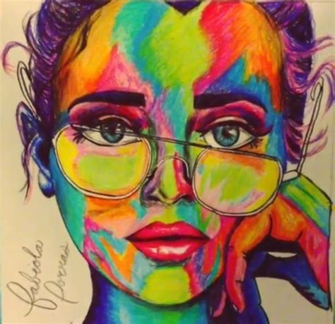 use those colored pencils to sketch your imagination