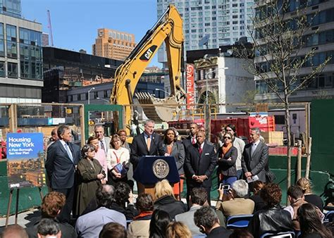 Nyc Affordable Housing Plan De Blasio's Efforts Are