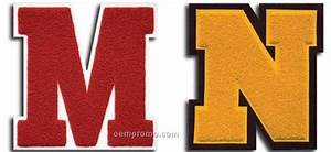 numbers and award letters chenille patches 2quot to 10 With chenille letters wholesale