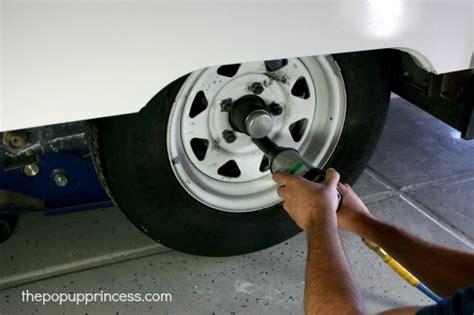 grease  repack  trailer bearings  pop