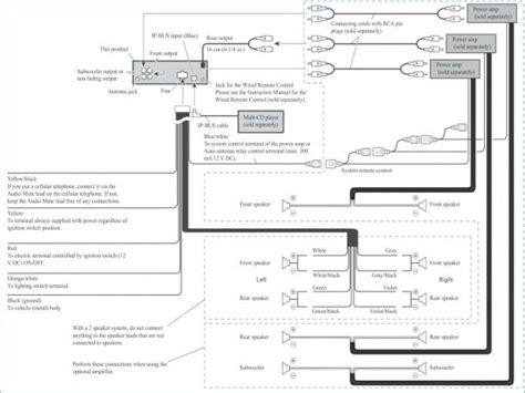 pioneer avic x710bt wiring diagram