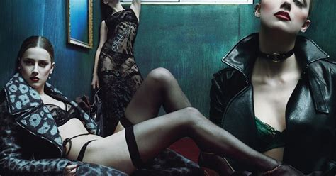 Amber Heard Strips To Lacy Underwear In Sexy Photoshoot And Talks Engagement To Johnny Depp
