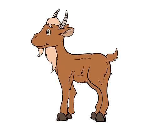 draw  cartoon goat    easy steps easy