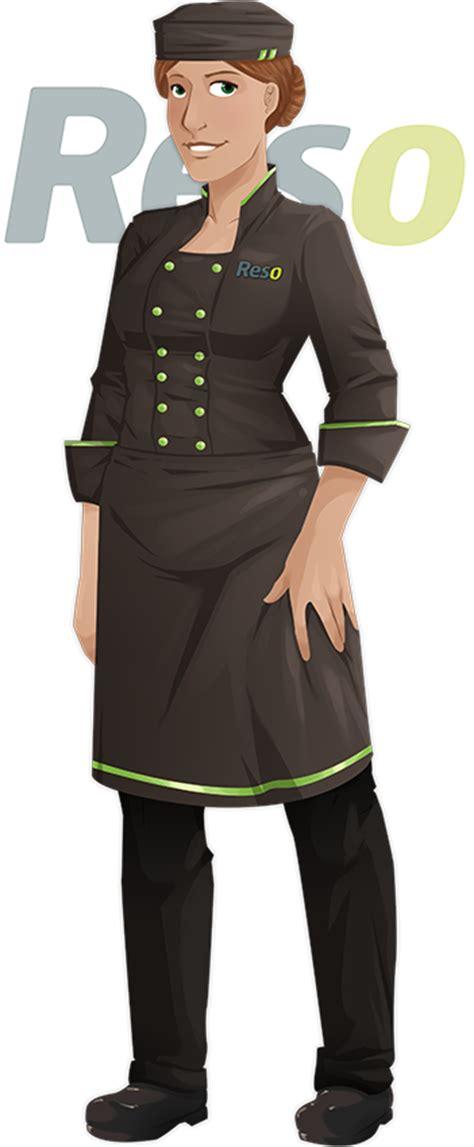chef de cuisine femme tenue de travail du chef de cuisine reso le