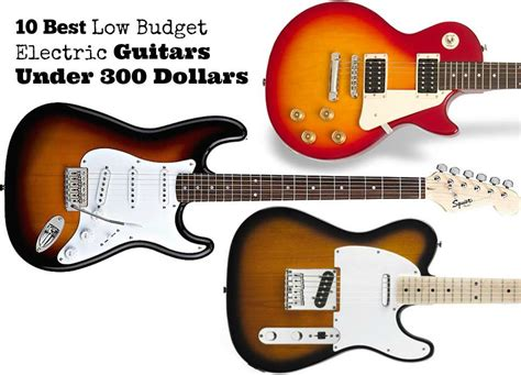 Top 10 Best Low Budget Electric Guitars For Beginners
