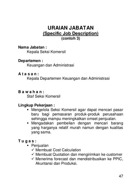 pelatihan aspects analysis description