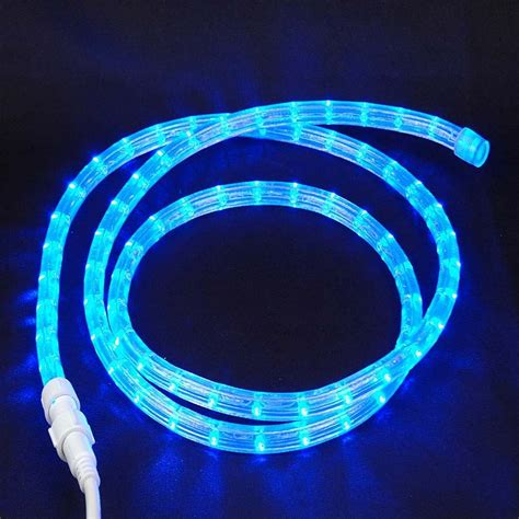 rope lights custom blue led rope light kit novelty lights