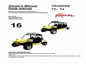 Joyner Trooper T2-t4 Buggy - Wiring Diagram