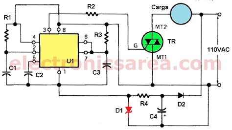 time delay circuit  triac   timer electronics
