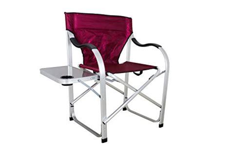 stylish cing sl1215 burgundy heavy duty folding cing