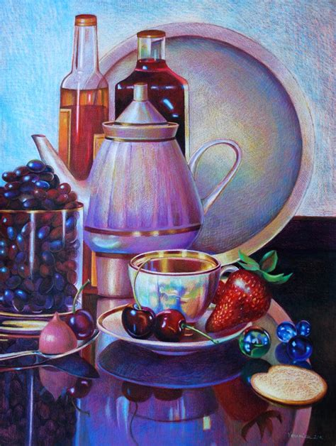 realistic colored pencil drawings veronica winters