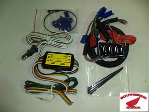 Add On Trailer Wire Harness And Converter Honda Goldwing