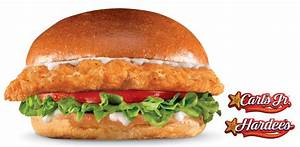 News: Carl's Jr. / Hardee's - New Big Chicken Fillet ...
