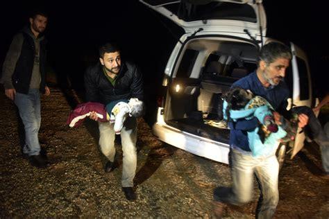 Turkey Refugee Boat Sinks by Turkey Children Die As Refugee Boat Sinks Off Turkish