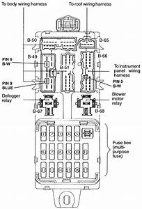 1995 Mitsubishi Eclipse  A Fuse Box Diagram