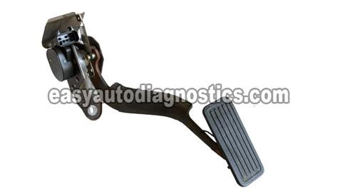 Part 1 How To Test The Gm Accelerator Pedal Position (app