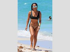 Christina Milian puts on cheeky display in a skimpy bikini